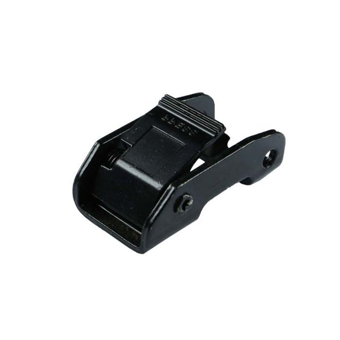 1 Inch Moto-Cam Black Plated Metal Cam Buckle