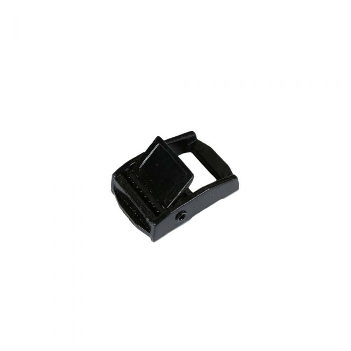 3/4 Inch Black Plated Metal Cam Buckle