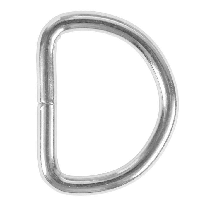1 Inch Lightwire Metal D-Ring