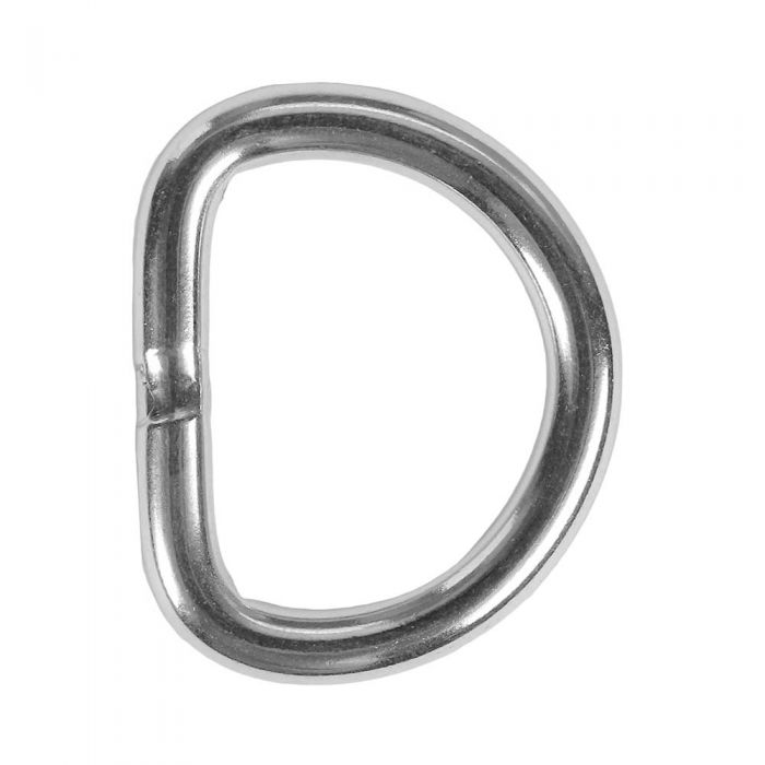 1 Inch Stainless Steel D-Ring