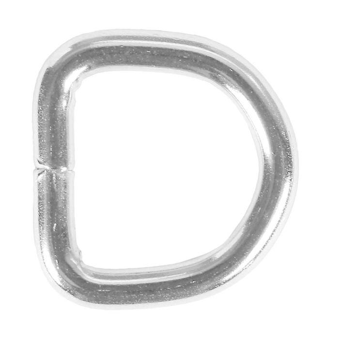 1/2 Inch Metal D-Ring