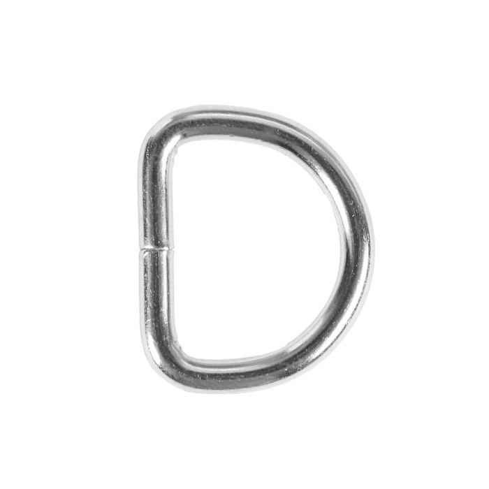 3/4 Inch Lightwire Metal D-Ring