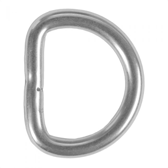 3/4 Inch Stainless Steel D-Ring
