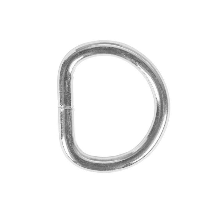 3/4 Inch Metal D-Ring