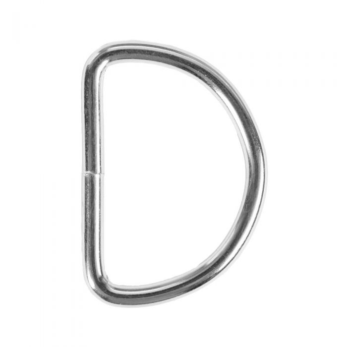 1 1/2 Inch Lightwire Metal D-Ring