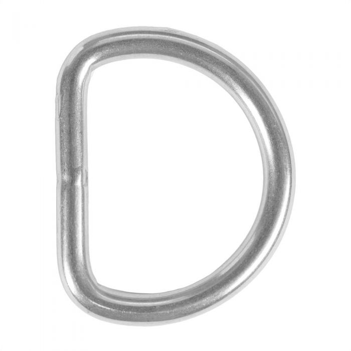 1 1/2 Inch Stainless Steel D-Ring