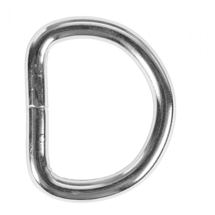 1 1/4 Heavywire Metal D-Ring