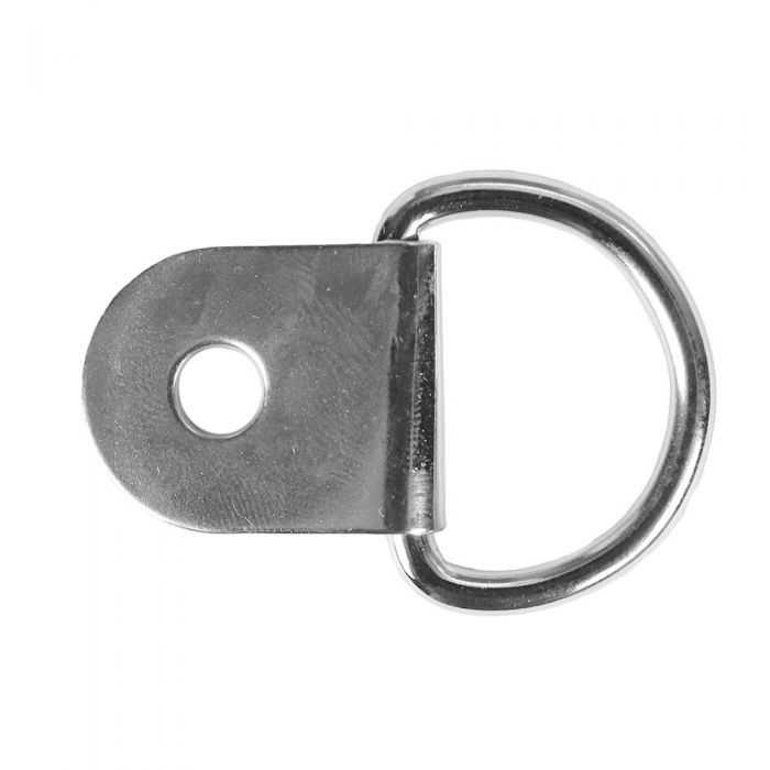 1 Inch Metal D-Ring with Clip