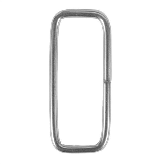 2 Inch Squared Metal Loop