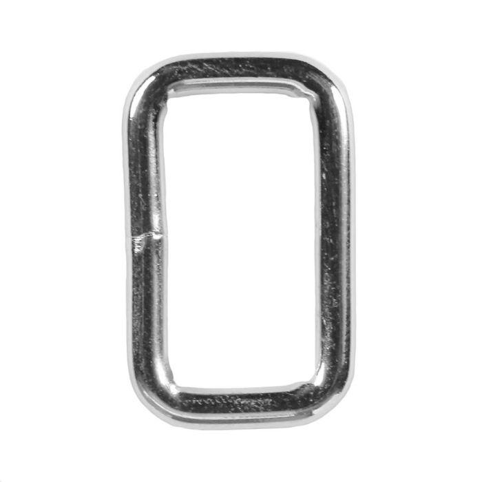 3/4 Inch Squared Metal Loop