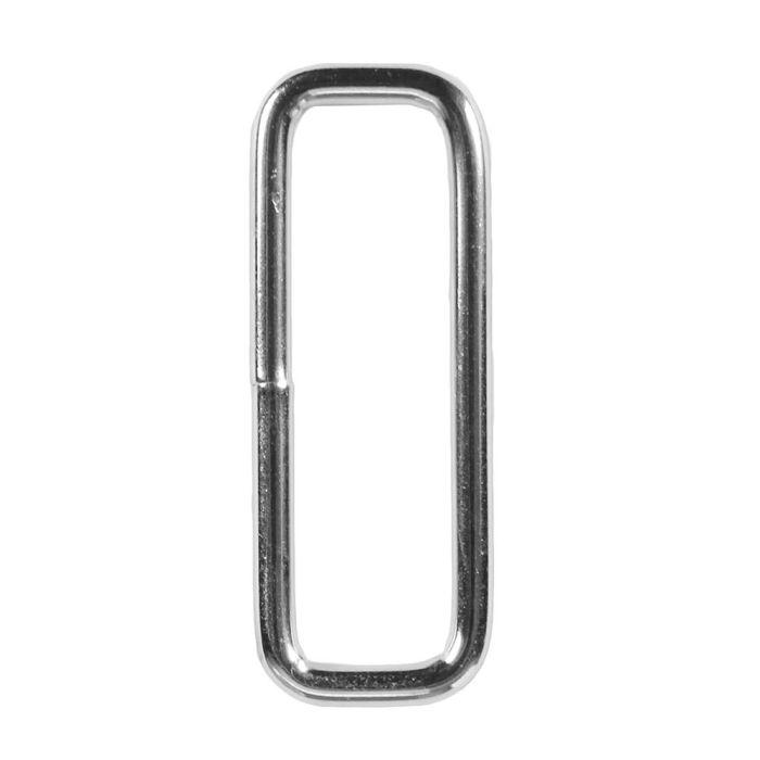 1 1/2 Inch Squared Metal Loop