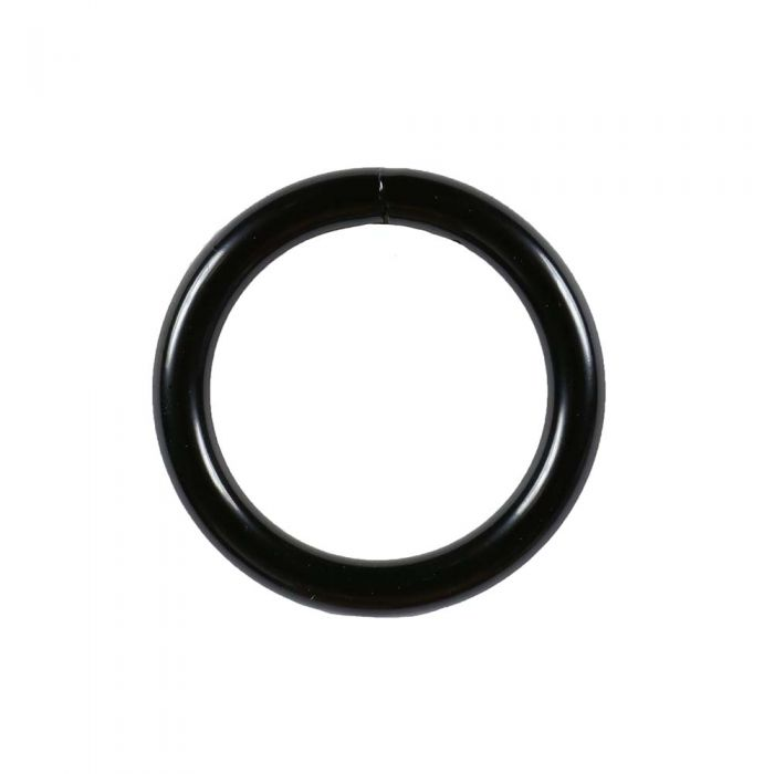 1 Inch Black Plated Metal O-Ring