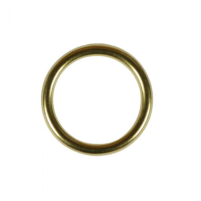 1 Inch Solid Brass O-Ring