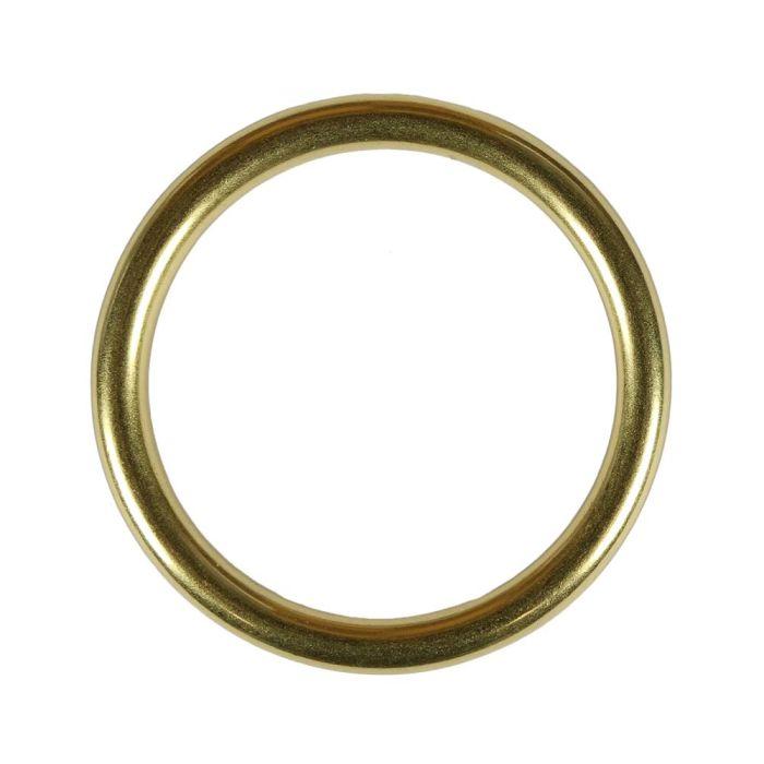 2 Inch Solid Brass O-Ring