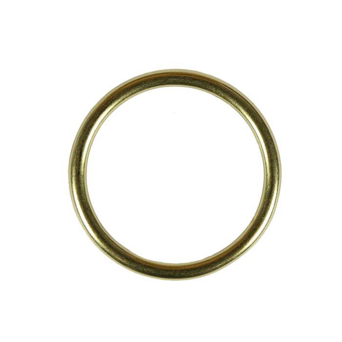 1 1/2 Inch Lightwire Solid Brass O-Ring