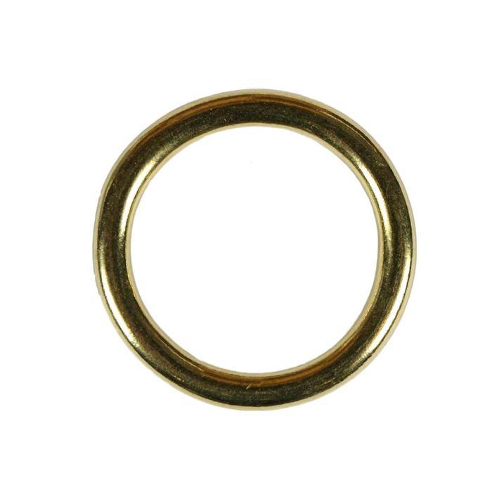 1 1/2 Inch Solid Brass O-Ring
