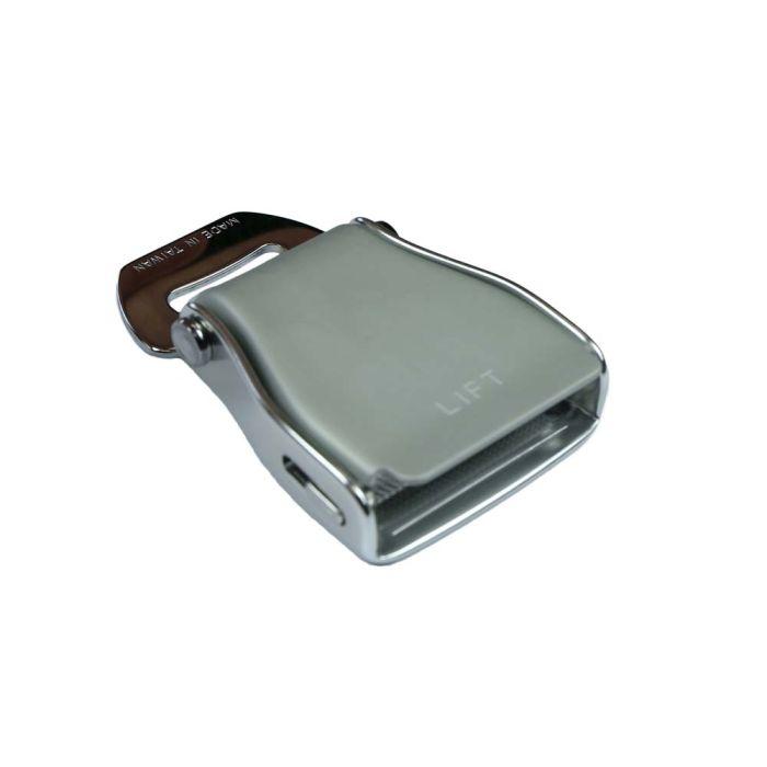 2 Inch Aluminum/Steel Airline Seat-Belt Buckle