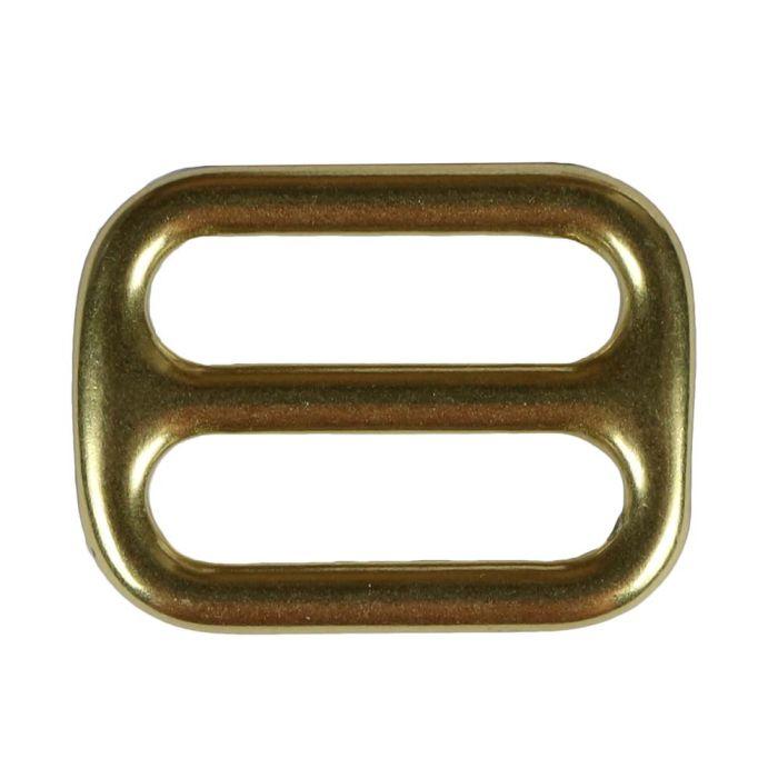 1 Inch Cast Flat Solid Brass 3-Bar Slide