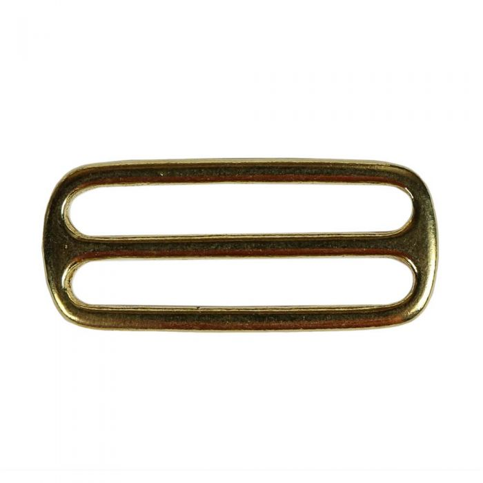 2 Inch Cast Flat Solid Brass 3-Bar Slide