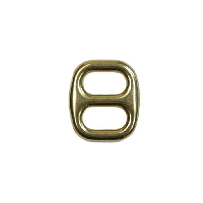 1/2 Inch Cast Flat Solid Brass 3-Bar Slide