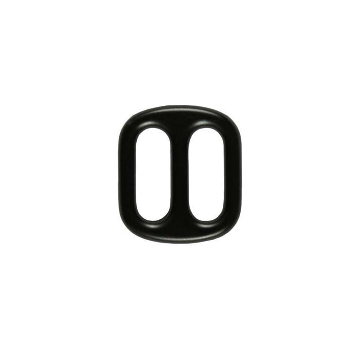3/4 Inch Cast Flat Black Plated 3-Bar Slide