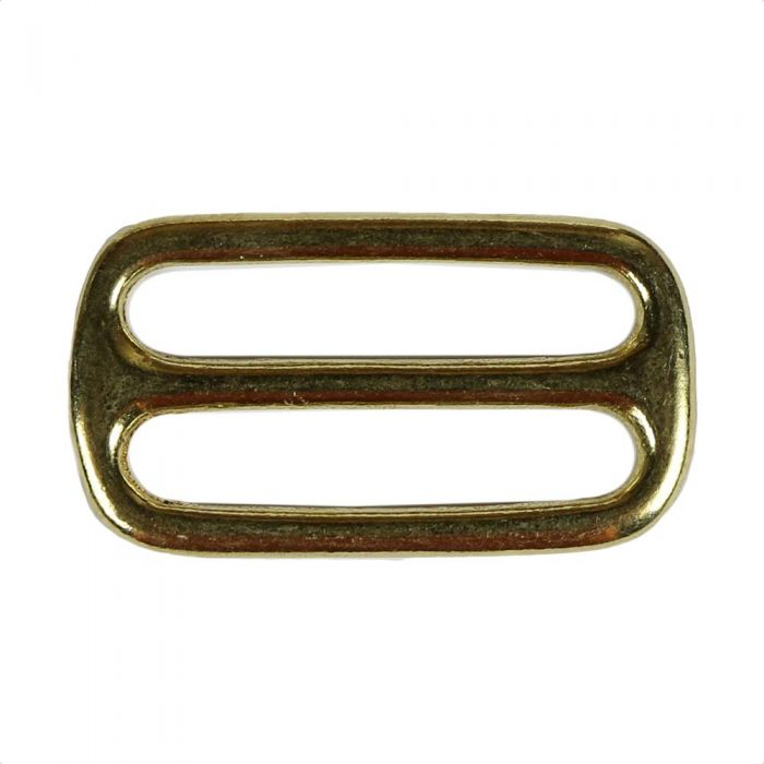 1 1/2 Inch Cast Flat Solid Brass 3-Bar Slide