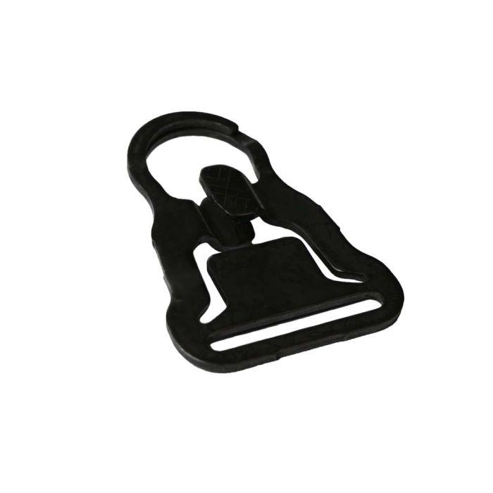 1 1/4 Inch Steel Plated MASH Hook Black