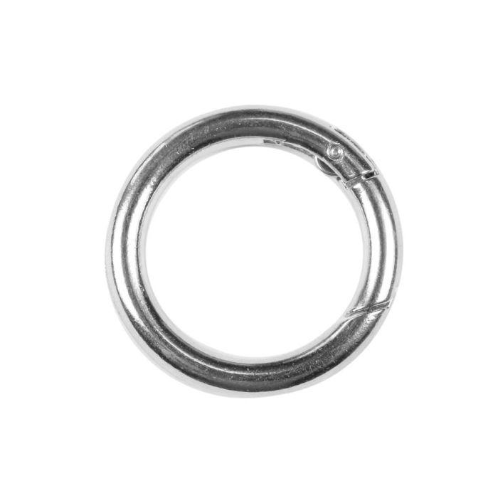 Zinc Metal Round Mini Spring Link
