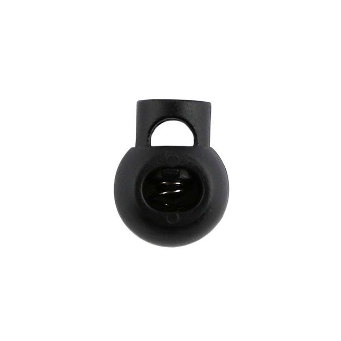 Black Ball Style Plastic Cord Lock