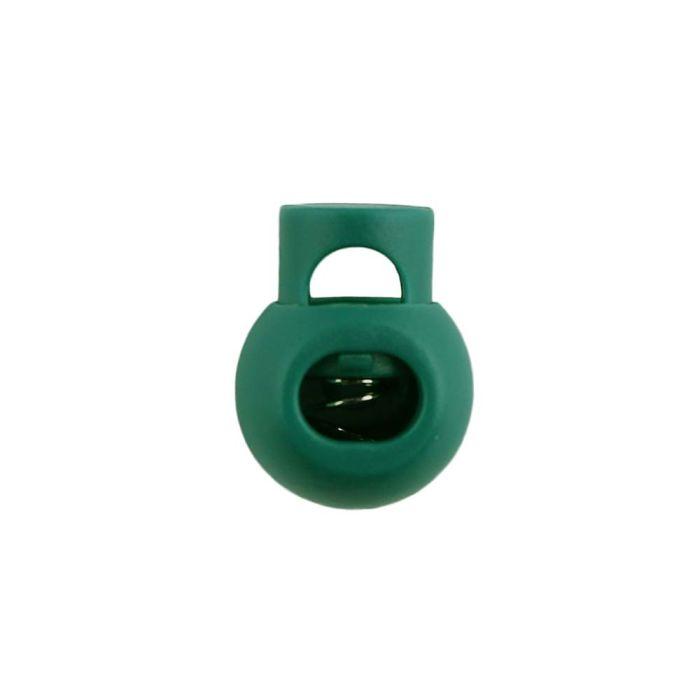 Green Ball Style Plastic Cord Lock