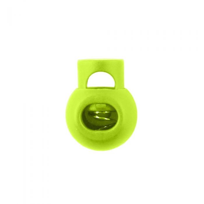 Lime Ball Style Plastic Cord Lock