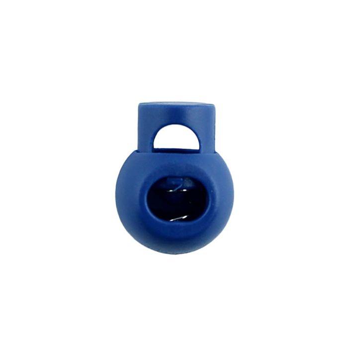 Navy Blue Ball Style Plastic Cord Lock