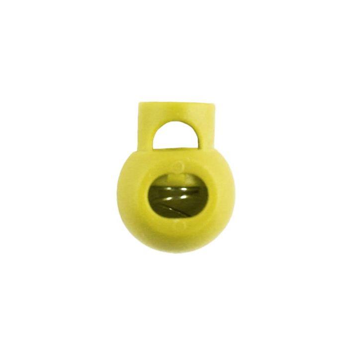 Yellow Ball Style Plastic Cord Lock