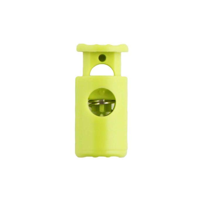Lime Barrel Style Plastic Cord Lock