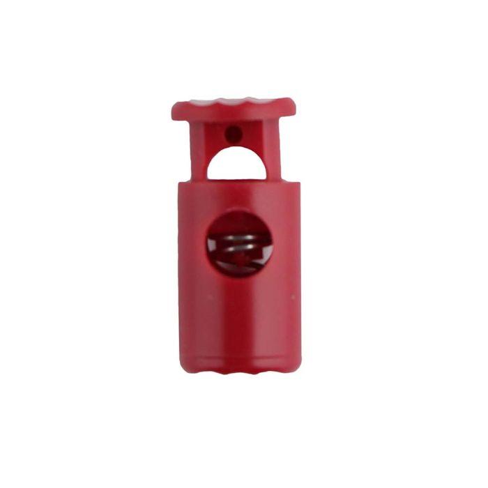 Red Barrel Style Plastic Cord Lock