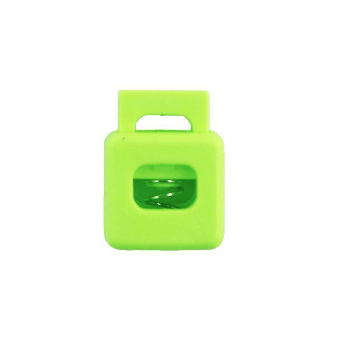 Lime Block Style Plastic Cord Lock