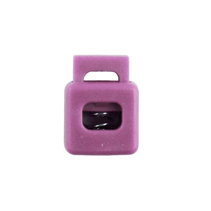 Orchid Block Style Plastic Cord Lock