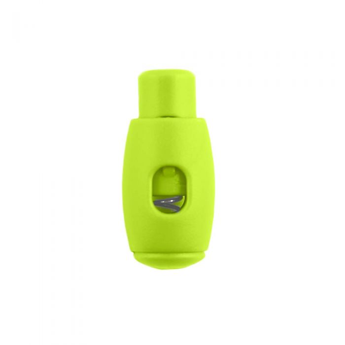 Lime Bowling Pin Style Plastic Cord Lock