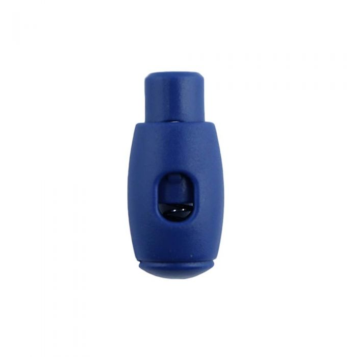 Navy Blue Bowling Pin Style Plastic Cord Lock