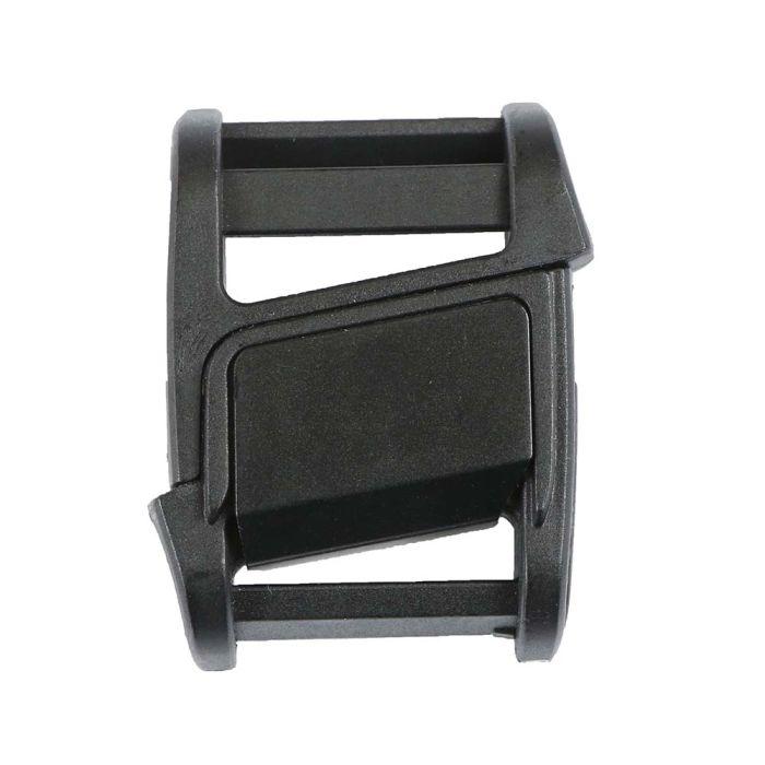 1 Inch Plastic Fidlock Magnetic Slide Release Buckle Beefy Black