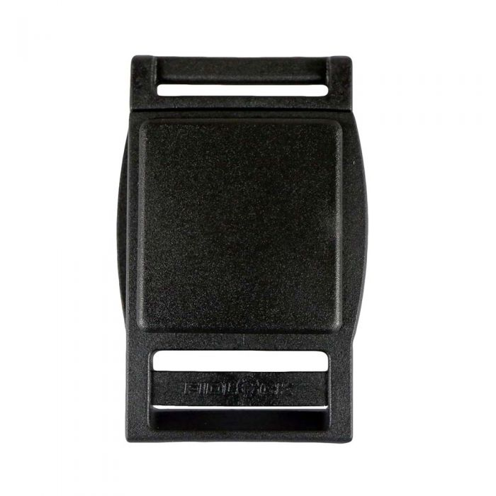 1 Inch Plastic Fidlock Magnetic Slide Release Buckle Black
