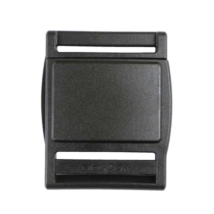 1 1/2 Inch Plastic Fidlock Magnetic Slide Release Buckle Black