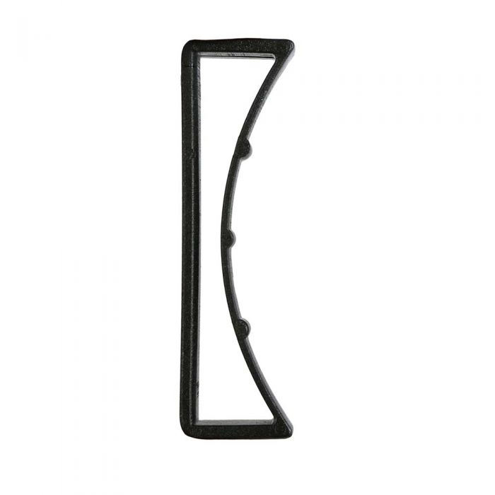 2 Inch Plastic Keeper Black