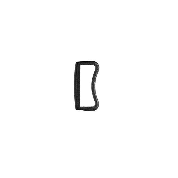 1/2 Inch Plastic Keeper Black