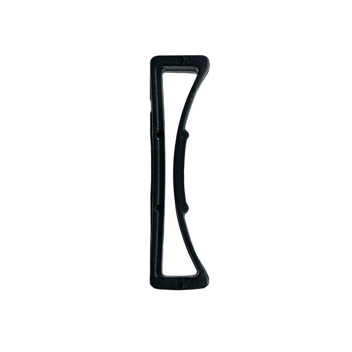 1 1/2 Inch Plastic Keeper Black