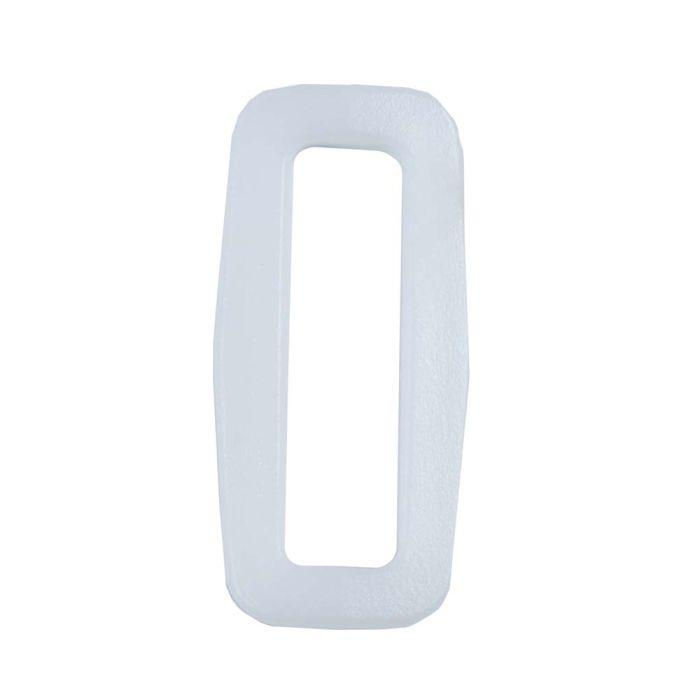 1 Inch Plastic Loop White