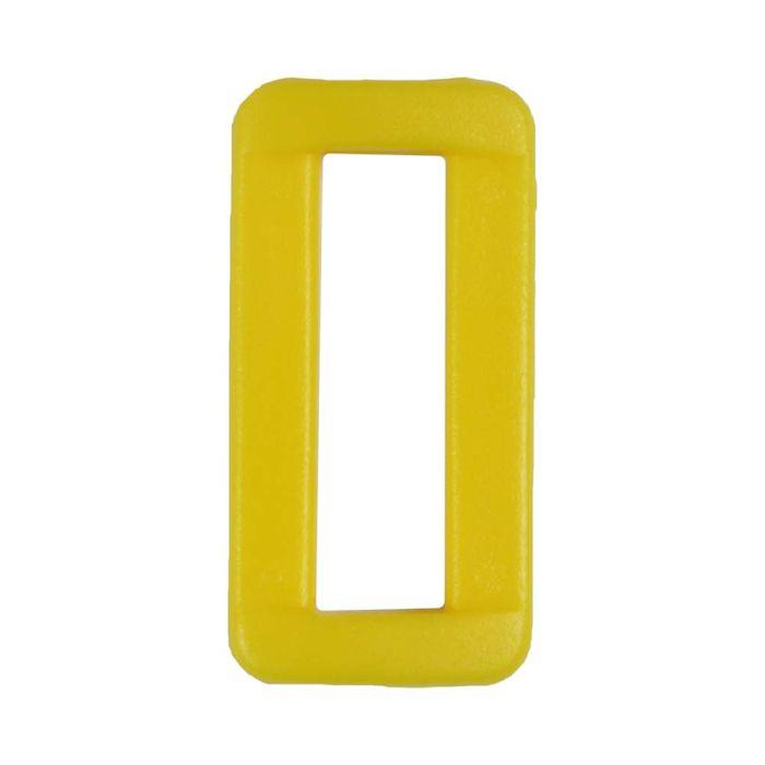 1 Inch Plastic Loop Yellow