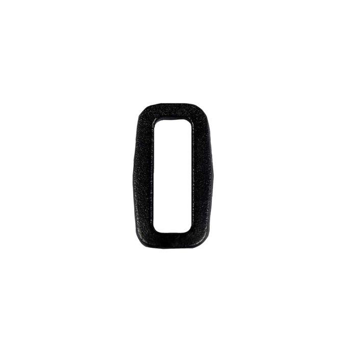 3/4 Inch Plastic Loop Black