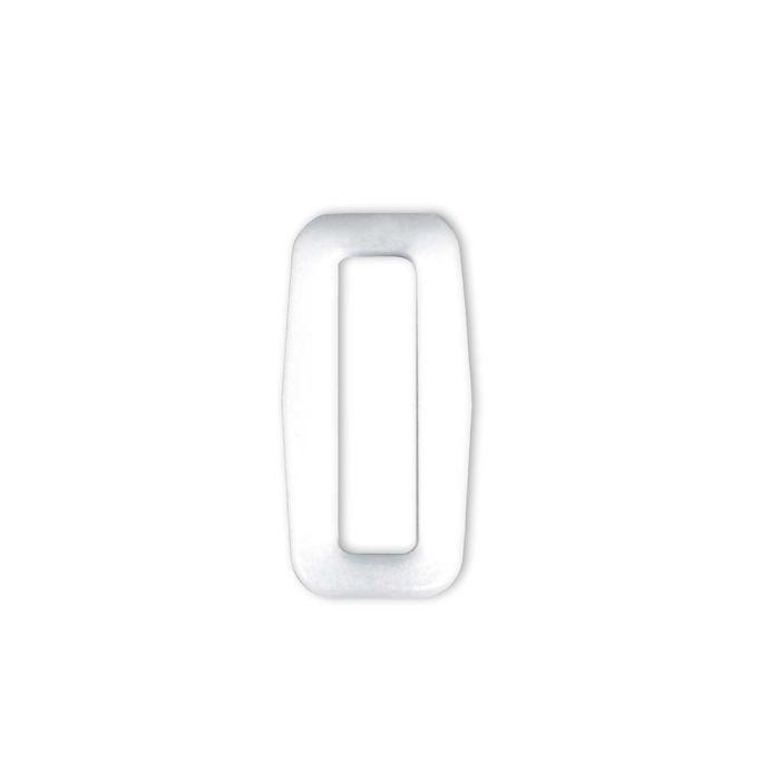 3/4 Inch Plastic Loop White