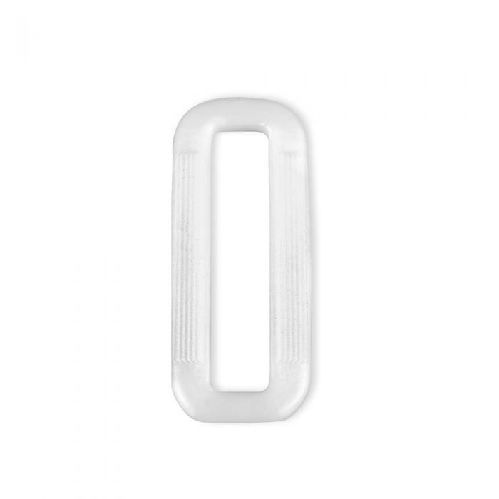 1 1/2 Inch Plastic Loop White